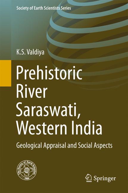 Cover of 'Prehistoric River Saraswati, Western India'