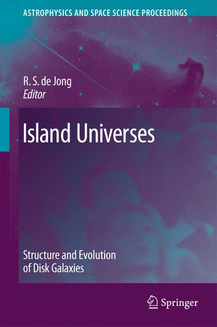 Cover of 'Island universes'