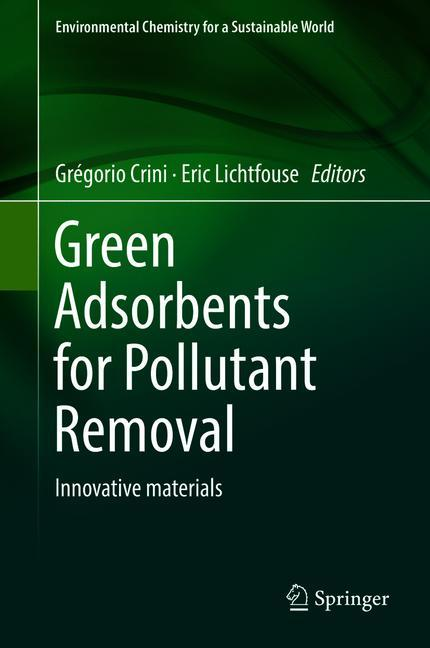 Cover of 'Green Adsorbents for Pollutant Removal'