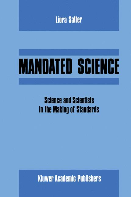 Cover of 'Mandated Science'