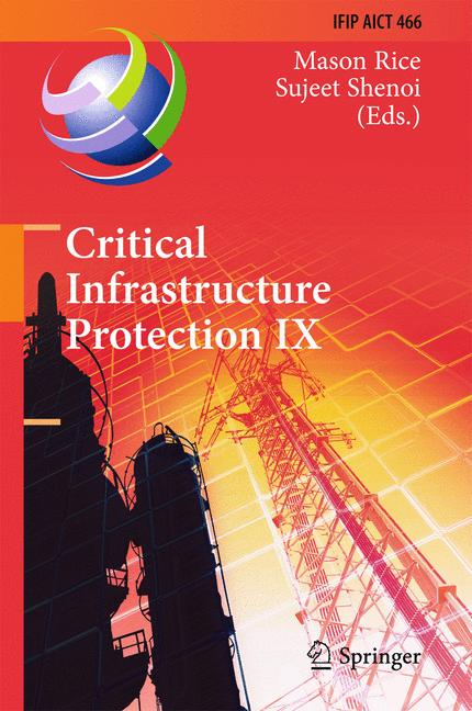 Cover of 'Critical Infrastructure Protection IX'