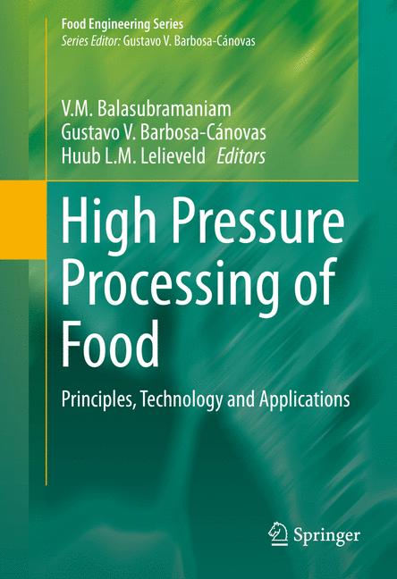 Cover of 'High Pressure Processing of Food'