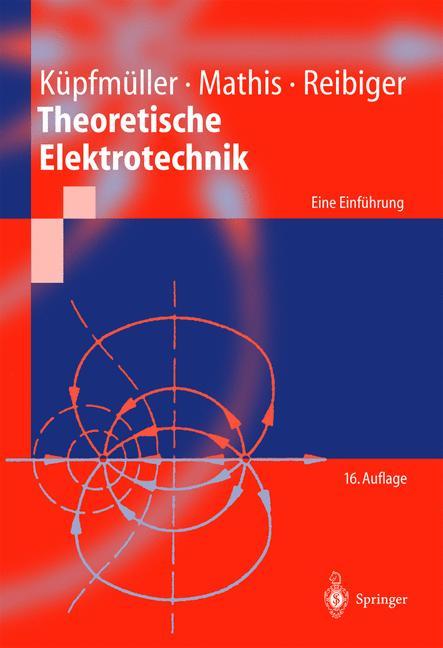 Cover of 'Theoretische Elektrotechnik'