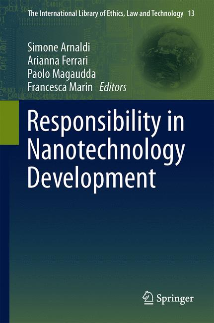 Cover of 'Responsibility in Nanotechnology Development'