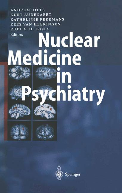 Cover of 'Nuclear Medicine in Psychiatry'