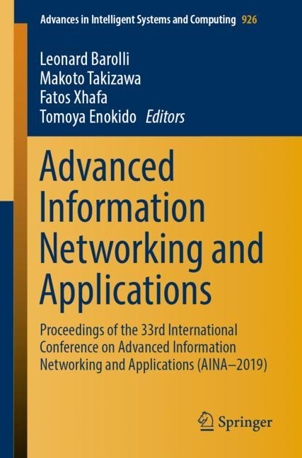 Cover of 'Advanced Information Networking and Applications'
