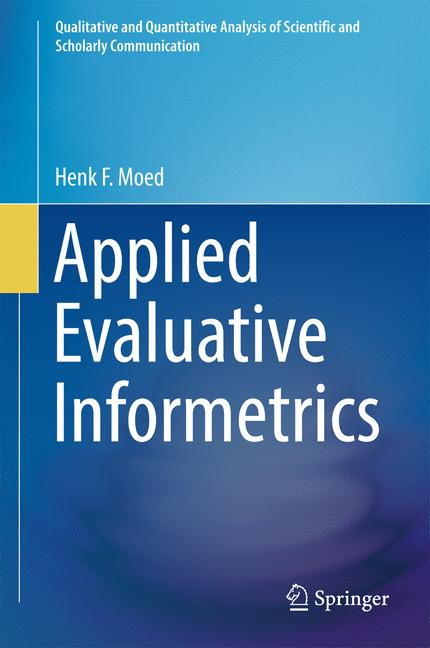 Cover of 'Applied Evaluative Informetrics'