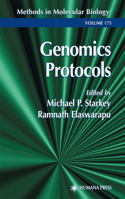 Cover of 'Genomics Protocols'