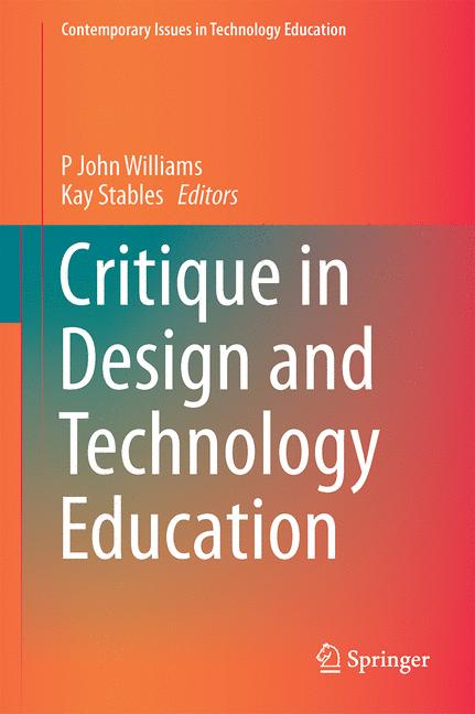 Cover of 'Critique in Design and Technology Education'