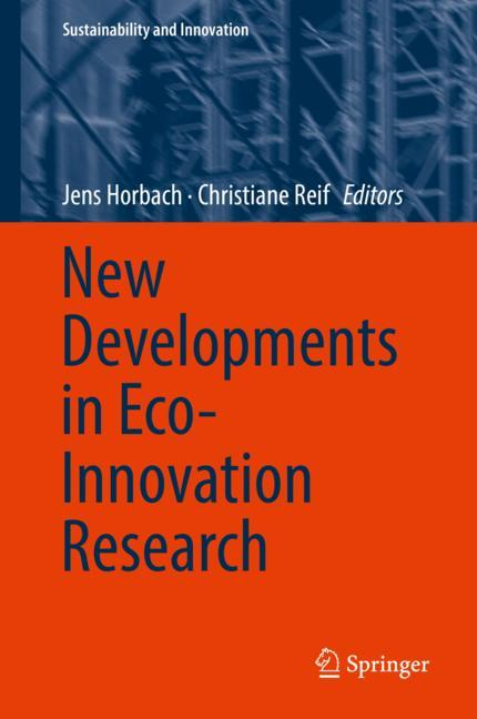Cover of 'New Developments in Eco-Innovation Research'