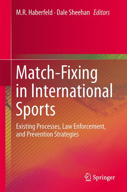 Cover of 'Match-Fixing in International Sports'