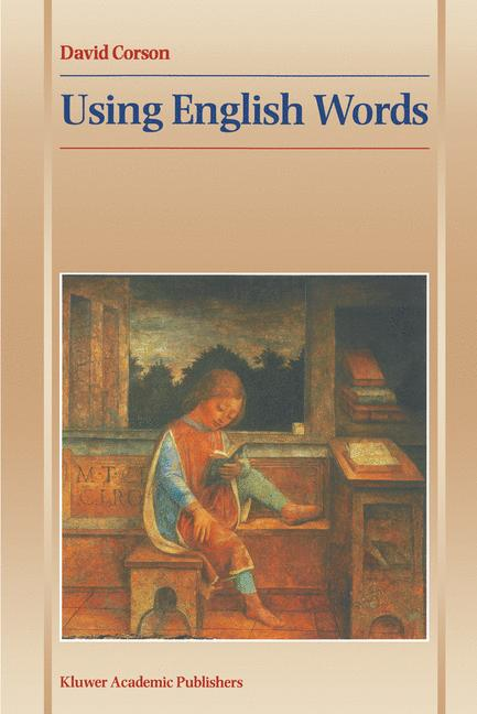 Cover of 'Using English Words'