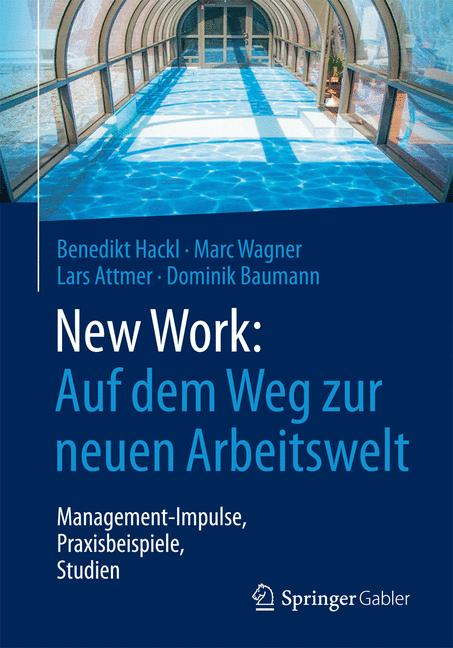 Cover of 'New Work: Auf dem Weg zur neuen Arbeitswelt'