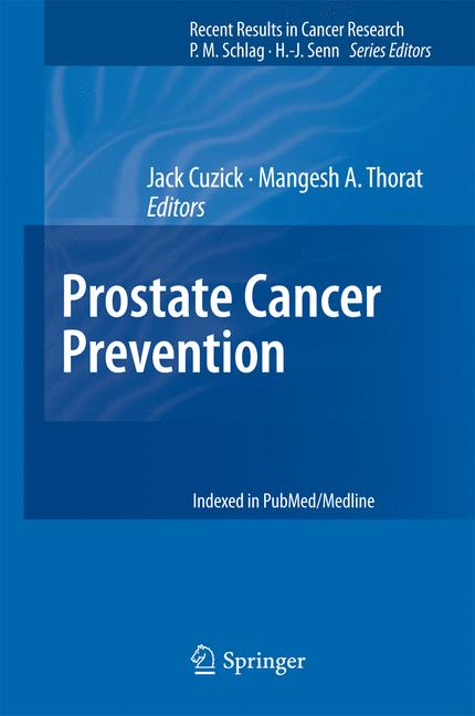 Cover of 'Prostate Cancer Prevention'