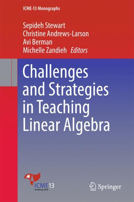 Cover of 'Challenges and Strategies in Teaching Linear Algebra'