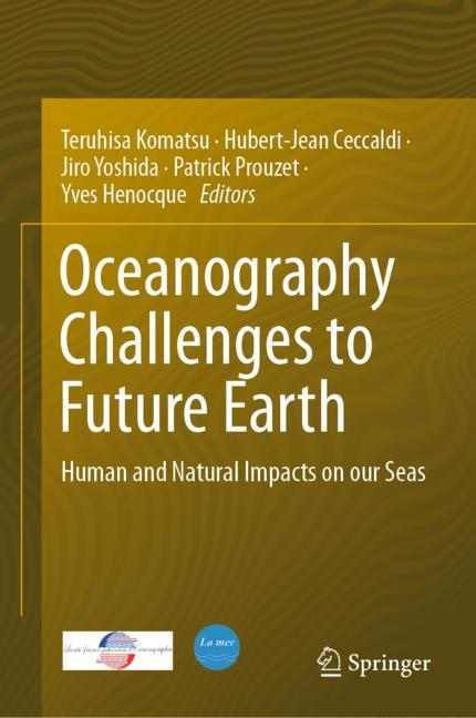 Cover of 'Oceanography Challenges to Future Earth'