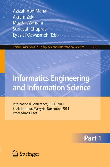 Cover of 'Informatics Engineering and Information Science'