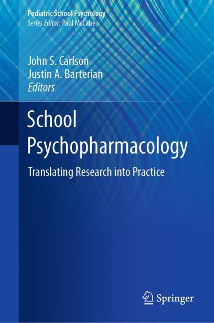 Cover of 'School Psychopharmacology'