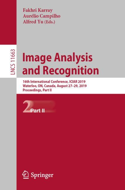 Cover of 'Image Analysis and Recognition'