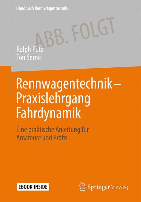 Cover of 'Rennwagentechnik - Praxislehrgang Fahrdynamik'