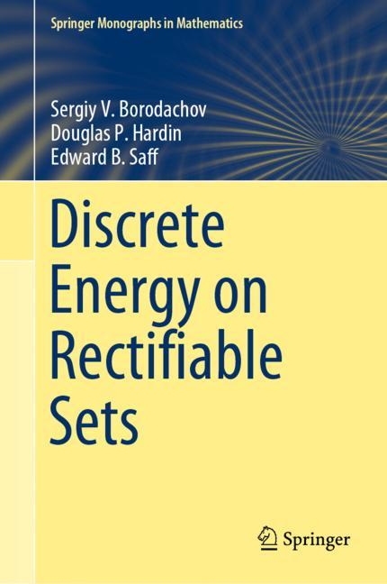 Cover of 'Discrete Energy on Rectifiable Sets'