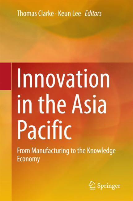 Cover of 'Innovation in the Asia Pacific'