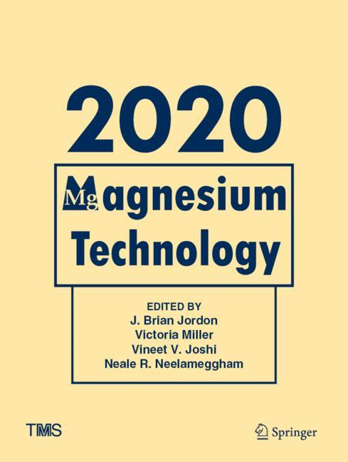 Cover of 'Magnesium Technology 2020'
