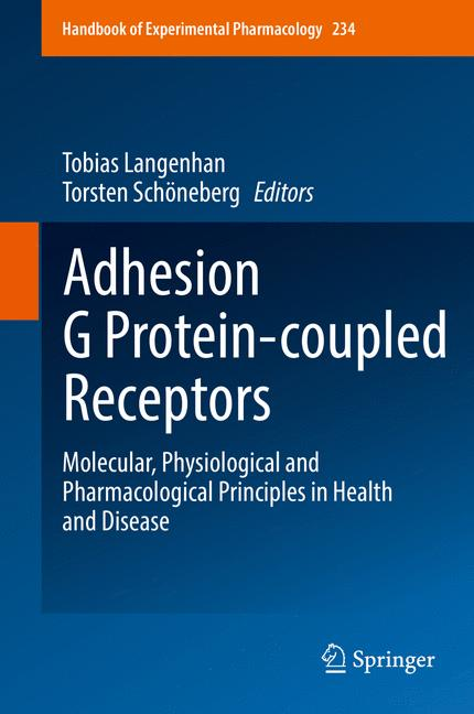 Cover of 'Adhesion G Protein-coupled Receptors'