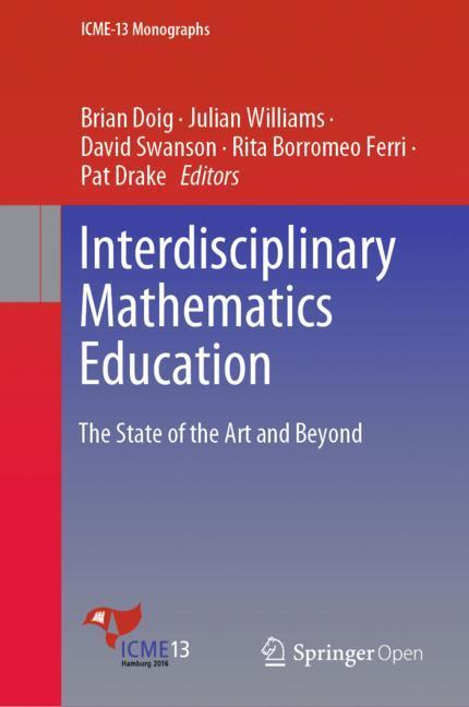 Cover of 'Interdisciplinary Mathematics Education'