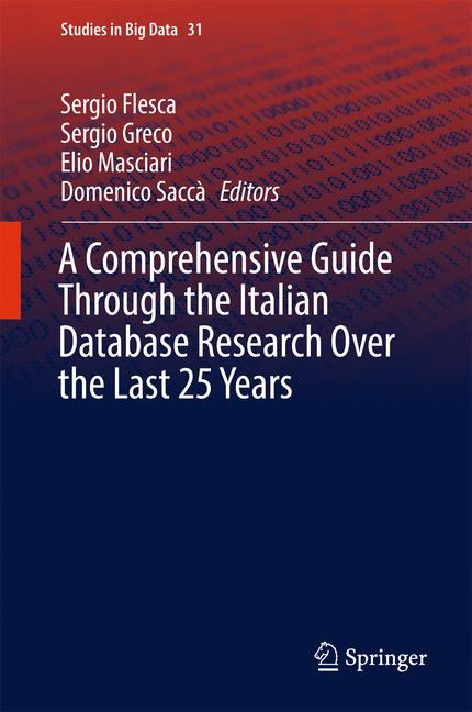 Cover of 'A Comprehensive Guide Through the Italian Database Research Over the Last 25 Years'