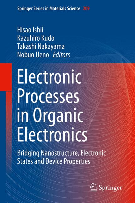 Cover of 'Electronic Processes in Organic Electronics'