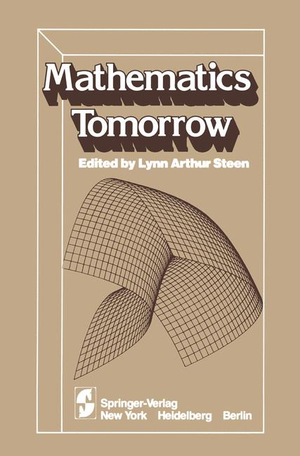 Cover of 'Mathematics Tomorrow'