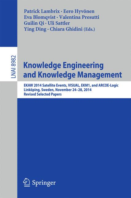 Cover of 'Knowledge Engineering and Knowledge Management'
