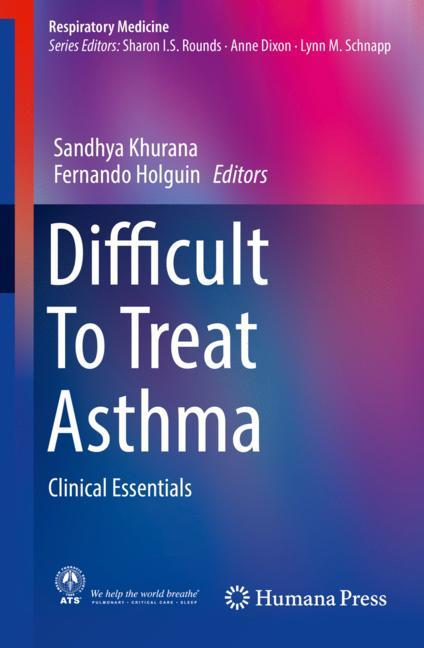 Cover of 'Difficult To Treat Asthma'