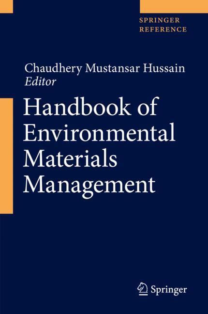 Cover of 'Handbook of Environmental Materials Management'