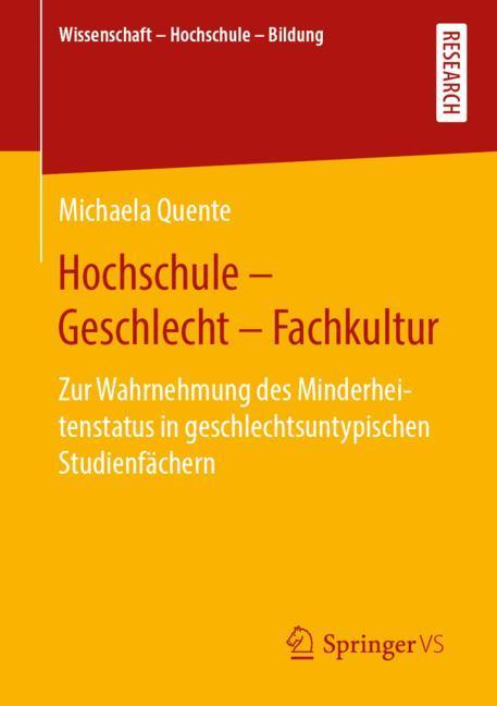 Cover of 'Hochschule - Geschlecht - Fachkultur'