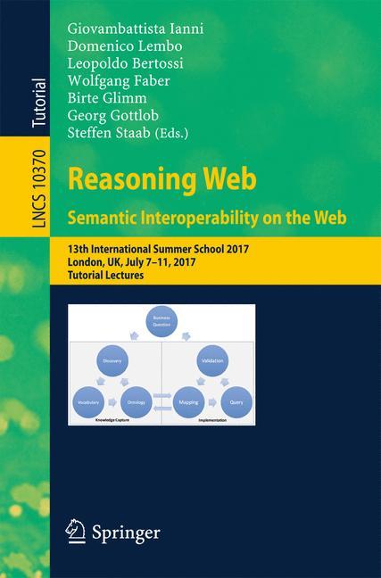 Cover of 'Reasoning Web. Semantic Interoperability on the Web'