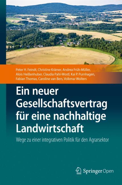 Cover of 'Ein neuer Gesellschaftsvertrag für eine nachhaltige Landwirtschaft'