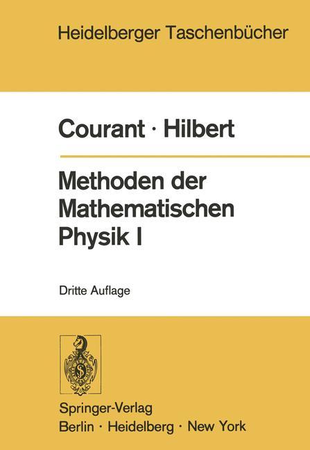 Cover of 'Methoden der Mathematischen Physik I'