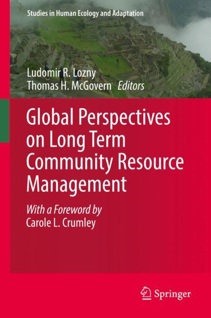 Cover of 'Global Perspectives on Long Term Community Resource Management'