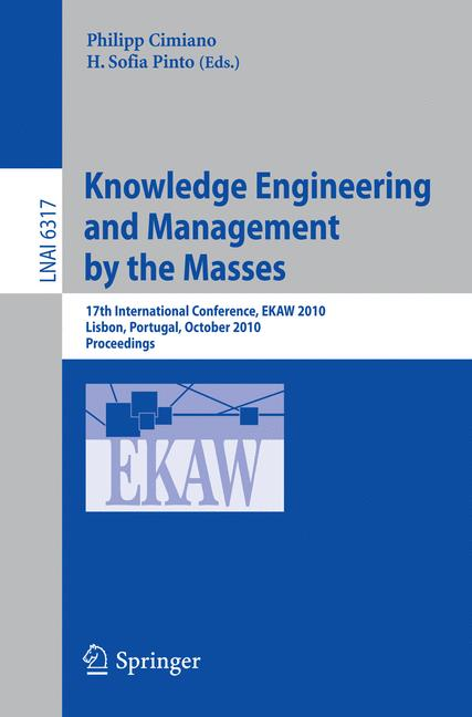 Cover of 'Knowledge Engineering and Management by the Masses'