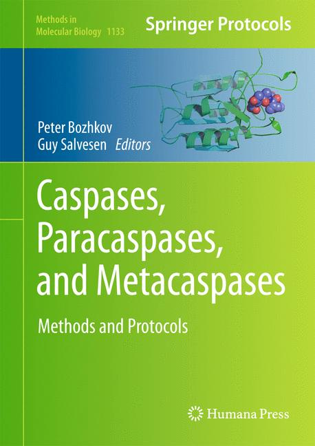 Cover of 'Caspases,Paracaspases, and Metacaspases'