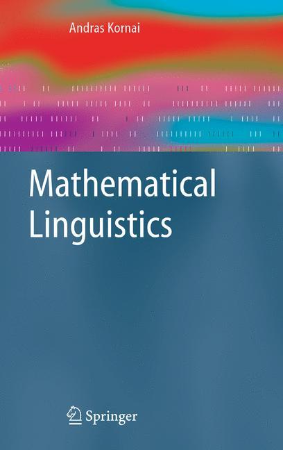 Cover of 'Mathematical Linguistics'