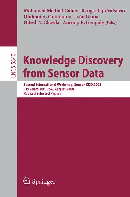 Cover of 'Knowledge Discovery from Sensor Data'