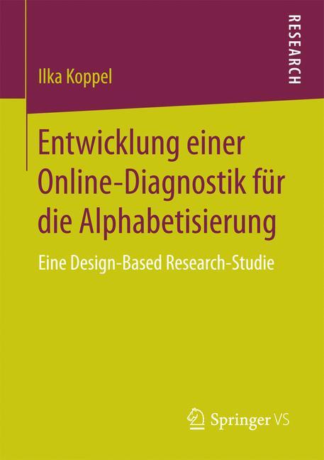 Cover of 'Entwicklung einer Online-Diagnostik für die Alphabetisierung'