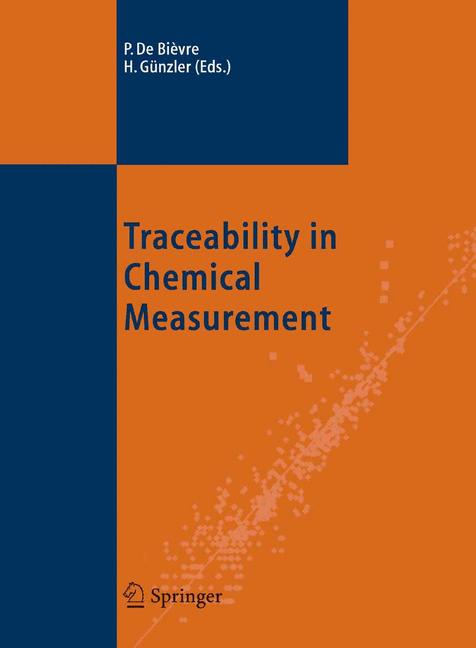 Cover of 'Traceability in Chemical Measurement'