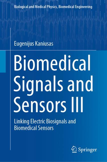Cover of 'Biomedical Signals and Sensors III'