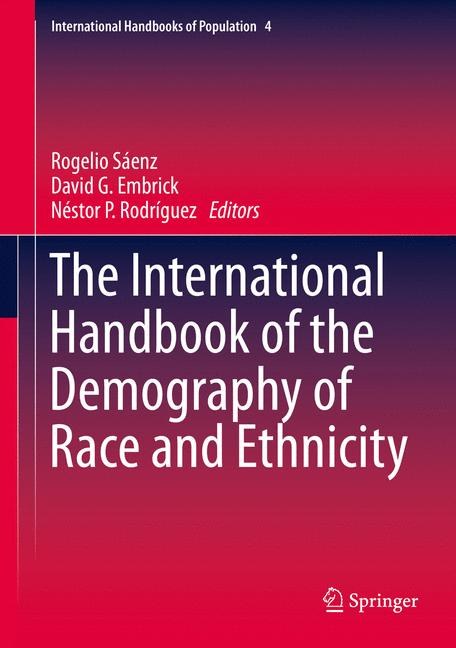 Cover of 'The International Handbook of the Demography of Race and Ethnicity'