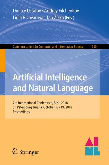 Cover of 'Artificial Intelligence and Natural Language'