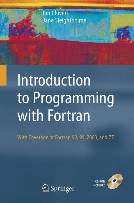 Cover of 'Introduction to Programming with Fortran'
